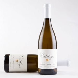 Cattleya 2018 Cuvee Number Five Chardonnay Bottleshots