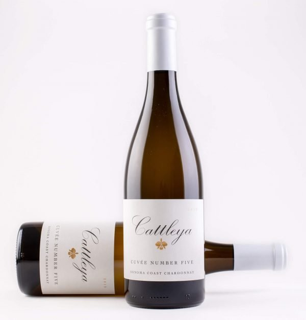 Cattleya 2019 Cuvee Number Five Chardonnay Bottleshots